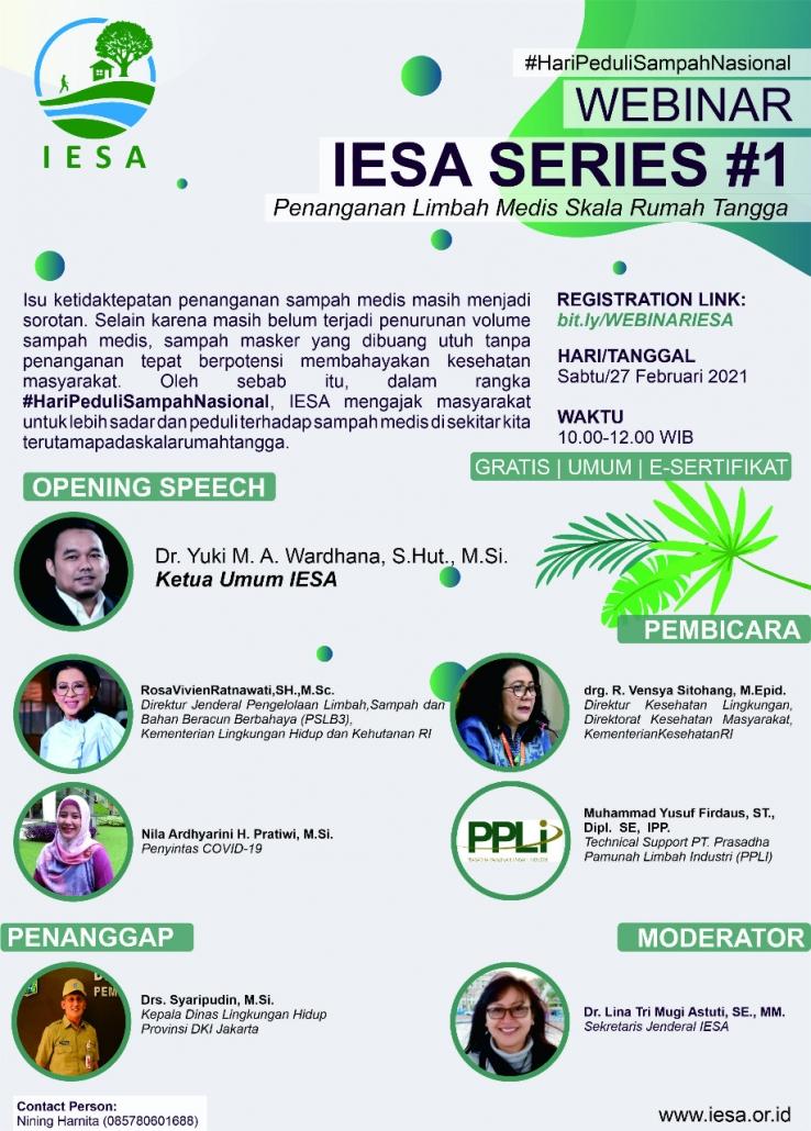 Webinar IESA Series #1